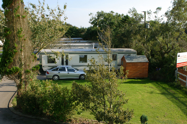 Ocean island caravan park holiday homes caravan and camping holidays - The mobile house on the unstable island ...
